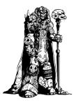 Skeletor B_W by inkycharland