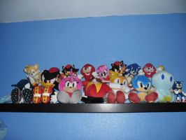 Sonic Plush set part Two by DarkGamer2011