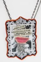 private investigator pendant by katmedina