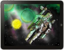 """iPad Art"" Space Mutant by mrmanders"