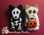 Spooky Dog Halloween Jewelry by DreamEyce