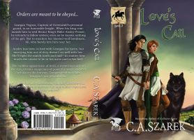 Love's Call book cover with layout by NicoleCadet