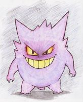 94 - Gengar by JacobMace