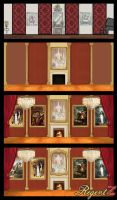 Ballroom Design Evolution - RegentZ by haha-tommy