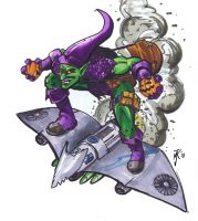 Green Goblin....Markers? by praire-storm