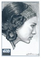 Natalie Portman haun Sketch by JohnHaunLE