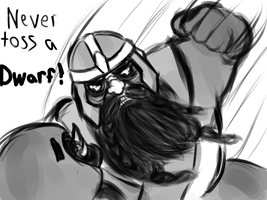 Gimli rage by Dread555