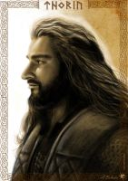 The Line of Durin - Thorin by UnicatStudio