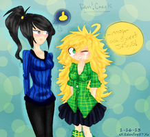 alternate fem!Creek by edenfire57