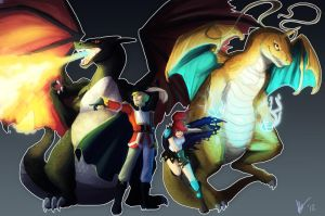 6XL: The Dragon Tamers by biscuitcrumbs