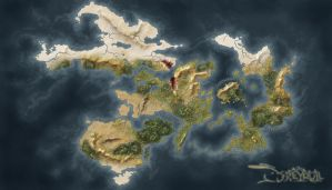 Dreyrull Map 2013 by StrayCreations