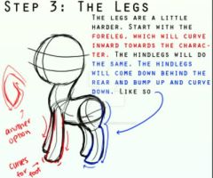 The eight steps to drawing ponies! 3/8 by masterchief80786