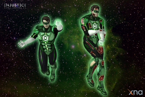 Injustice: Gods Among Us - Green Lantern Default by Sticklove