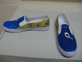 Peacock Shoes by BrianDanielWolf