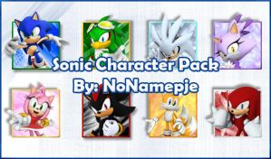 Sonic Characters Avatar Pack by NoNamepje