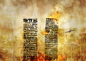 9/11 Typography by samsaga1307