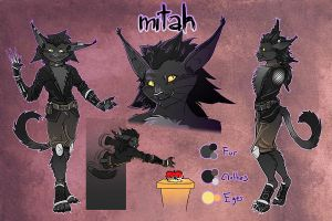 Mitah - Character Reference by HamsterMasterSamster