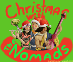 Avatar Advent Calendar: Day 10: Nomads Christmas by Mattierial