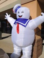 The Stay Puft Marshmallow Man by Simpsonsfanatic33