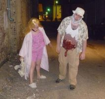 Dead Dale and Little Zombie Girl 5 by Linksliltri4ce