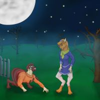 Contest Entry: Daphne Velma Werewolves Part 2 by EduartBoudewijn