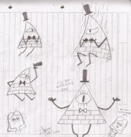 Bill Cipher by abrilmazziotti