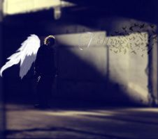 Loneliness of the angel by Music-Junky