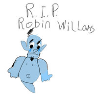 R.I.P. Robin Williams by TotallyTunedIn