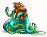 Octobear? BEARCTOPUS by blazegryph