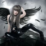 Dark-Angel by EnchantedWhispersArt