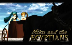 MMD Miku and the Egyptians - PART 2 by Trackdancer