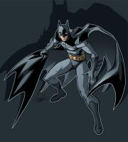 A little Batman by hellcorpceo