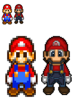 HD Mario sprite by Rated-R4-Ryan