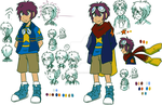 Daichi Chararcter Reference Sheet by adventure-heart