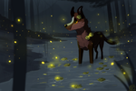 Fireflies [Completed YCH] by Solminol