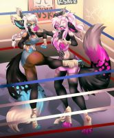 .:fight:. by Fur-What-Loo