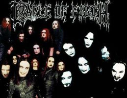 Cradle of Filth by SuedeTruama