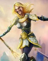 lux League of Draven! by armice