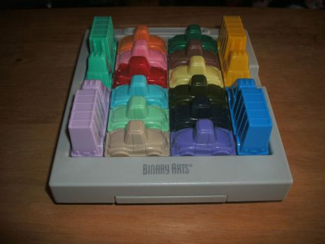Rush Hour Traffic Jam Puzzle by LouisEugenioJR