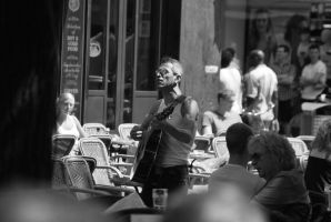 Busking by Prythen