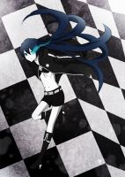 black rock shooter by i-c-21
