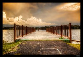 City Park Pier III HDR by joelht74