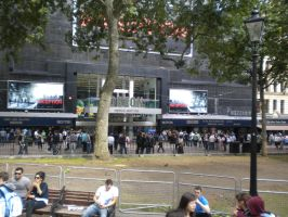 Leicester Sq. Odeon by CooroSnowFox