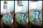 Horsea inside a light bulb by Kosmu