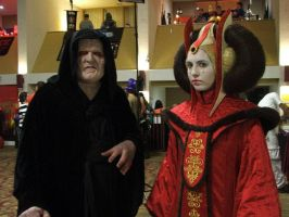 Sidious and Amidala by YetAnotherCatgirl