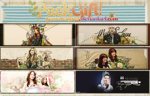 20140701. Pack Gift for my Friends by GenieDesigner