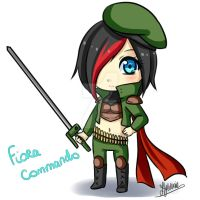 Fiora commando by Hyldenia