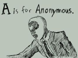 A is for Anonymous by SpiffyOfCrud