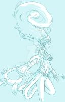 Ice Queen Janna by Luthien90
