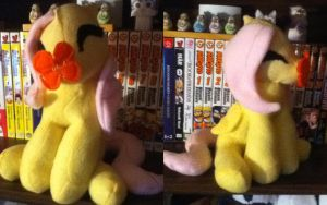 Filly Fluttershy test plush :SOLD: by Chibi-Katie